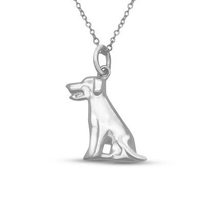 Waiting Dog Pendant