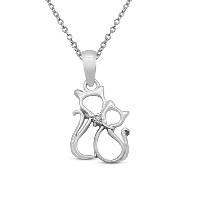 Loving Cats Pendant