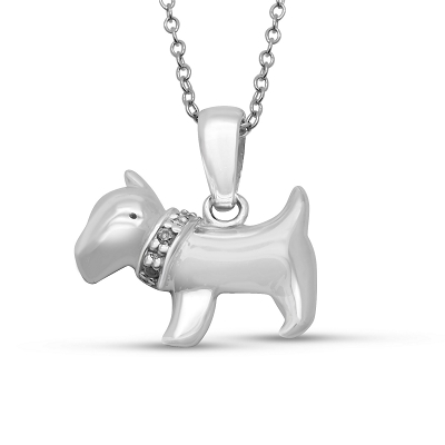 Scottish Terrier Dog Pendant