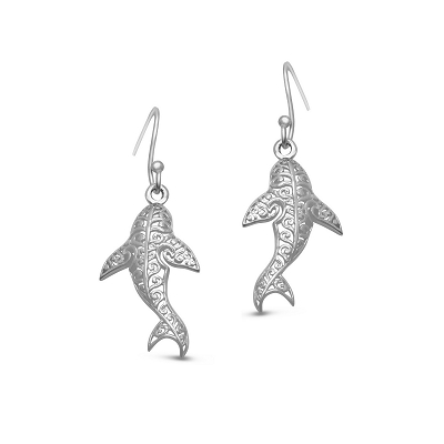 Filigree Sharks - Earrings