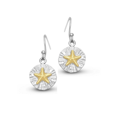 Starfish Sandollar Earrings