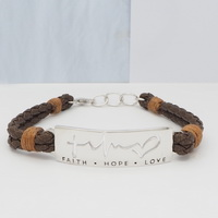 Faith Hope Love  (18-3cm -7-1in-) Cord