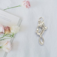 Mother & Child Infinity Pendant