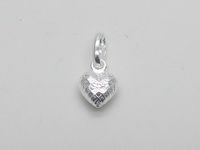 Netted Heart Pendant