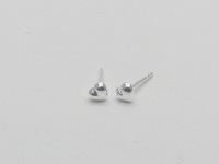 Hearts (4.5mm Full) Earrings
