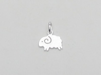 Iced Sheep Pendant