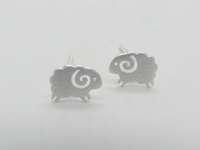 Iced Sheep - Earrings