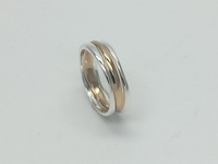 Triple Curved Bands Ring