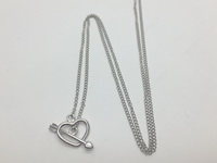 Heart-Arrow (54 cm -21in-) Necklace