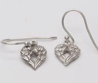 Winged Hearts Earrings