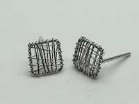 Square Mesh Earrings