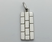 Rectangle Lines Pendant