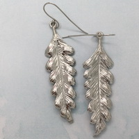 Fern Leaves - Earrings