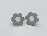 Flower Cutout Earrings