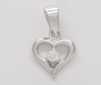 Perfectly Imperfect Heart Pendant