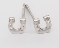 Horseshoe  - Earrings