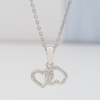 Roped Hearts Pendant