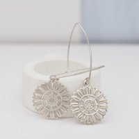 Boho Sunflowers Earrings