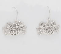 Filigree Crabs  - Earrings