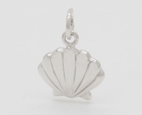 Scallop Seashell Pendant