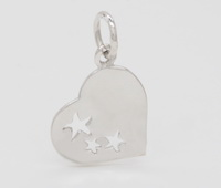 Starfish in Heart Pendant