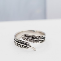 Feather Ring (Free Size)