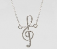 Sing (Music Note) (16-2in -41-5cm-) Necklace