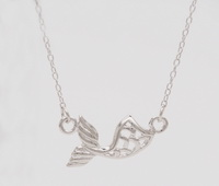 Mermaid Tail (16-2in -41-5cm-) Necklace