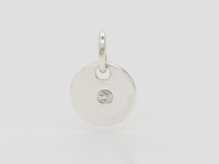 Round Disc (6mm) Pendant