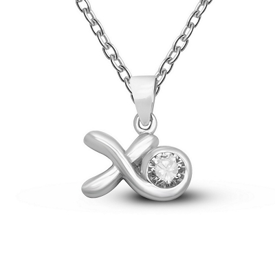 Hugs & Kisses (XO) Pendant