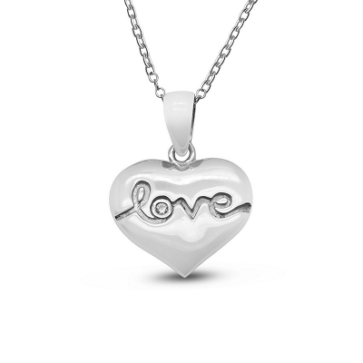 Love in Heart Pendant