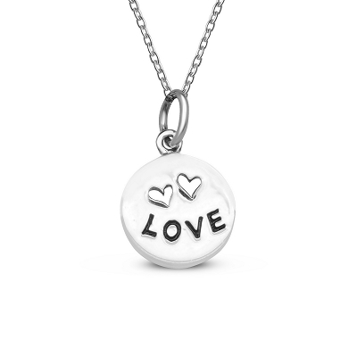 Love Coin Pendant