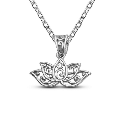 Lotus Bloom Pendant