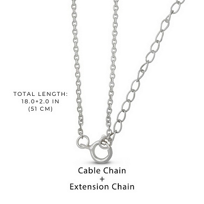 Cable Chain 20Inches