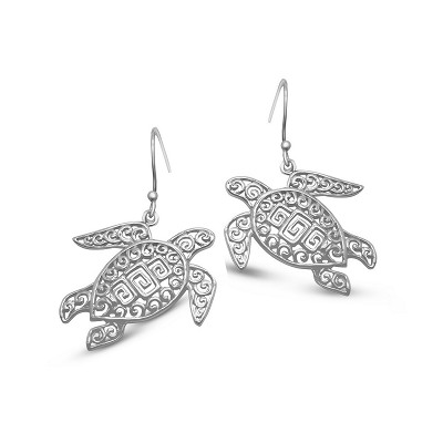Filigree Turtles - Earrings