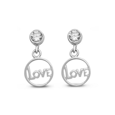 Love Circle Earrings
