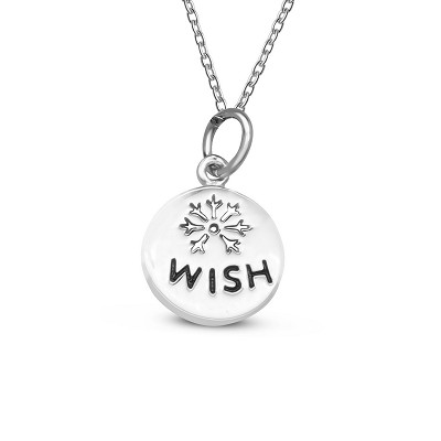 Wish Coin Pendant