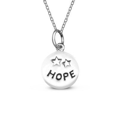 Hope Coin Pendant
