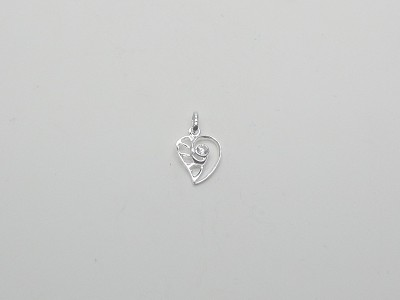 Hearts in Heart Pendant