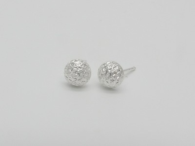 Nest Half Dome (6mm) Earrings