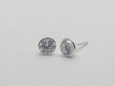 5mm Solitaire Earrings