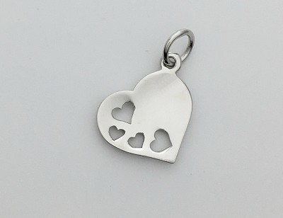 Heart in Hearts Pendant