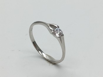 Fantasy Solitaire (4mm) Ring