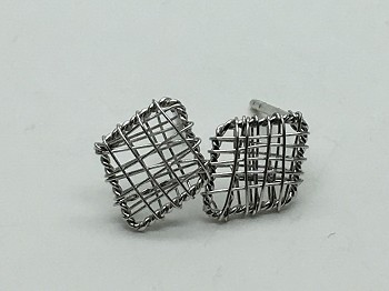 Diamond Mesh Earrings