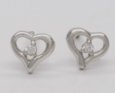 Perfectly Imperfect Hearts  - Earrings