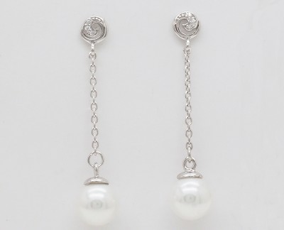 Spiral Drops - Earrings