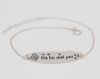 This Too Shall Pass (17-3cm) Bracelet